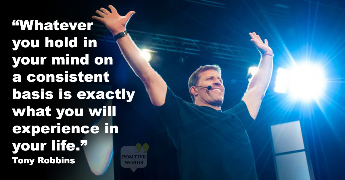 21 Inspirational Tony Robbins Quotes That Will Have You